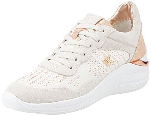 Lumberjack Kym, Sneaker Donna, Bianco (White/Quartz), 36 EU