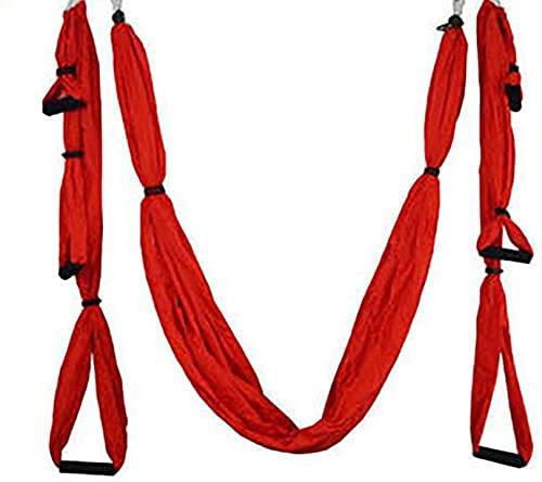 TTYUIO Hamaca de Yoga aérea, elástica, 6 manijas, Tela de paracaídas, Columpio antigravedad Personalizado