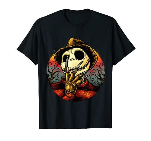Humor de terror aterrador Navidad asesino en serie disfraz de Halloween Camiseta