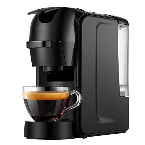 FXXJ Haushalts-bewegliche Kaffeemaschine, 0.6LEspressomaschine 3-in-1 Multi-Funktions-Italienisch-Konzentrat Capsule Kaffee-Maschine