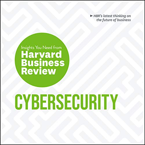 Cybersecurity audiobook cover art