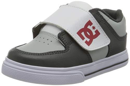DC Shoes Pure - Leather Shoes - Schuhe - Kleinkinder - EU 23 - Grau