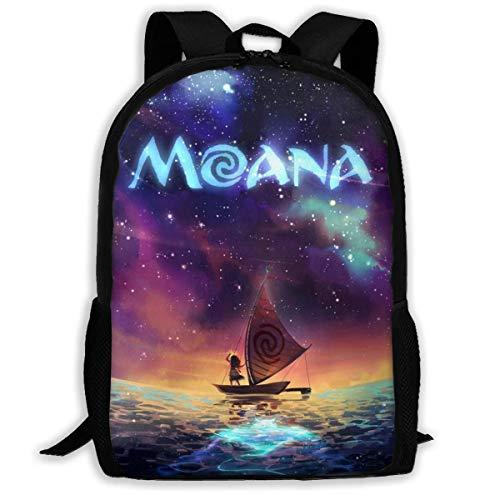 shenguang Moana Adult Travel Backpack Fits 15.6 Inch Laptop Backpacks School College Bag Casual Rucksack for Men & Women