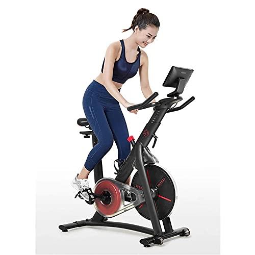KCBYSS Bicicleta giratoria Bicicleta de fitness Ejercicio en casa Equipo de gimnasio Magnetrón interior Bicicleta de ejercicio Ultra silenciosa