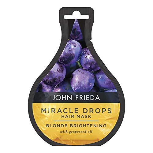John Frieda Miracle Drops Brightening Hair Mask for Blonde Hairs, 25 ml