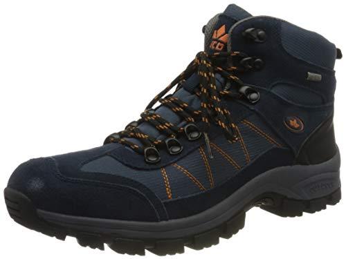 Lico Outdoor-& Trekkingschuh, de Plein air Homme, Marine/Orange, 38 EU