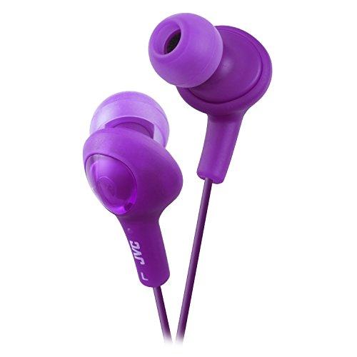 JVC HAFX5V Gumy Plus Inner Ear Headphones (Grape Violet)