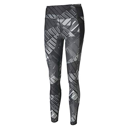PUMA Damen AOP 7/8 Tight Leggings, Black White-Be Bold Q1 PRT, S