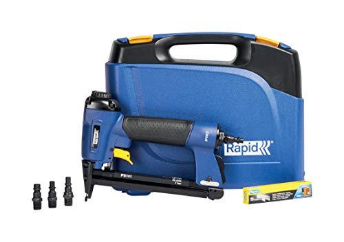 Rapid Drucklufttacker PS141, Druckluft Tacker für Polstern, Leicht, Kompakt und Handlich, für Klammern Typ 12, 6-16mm