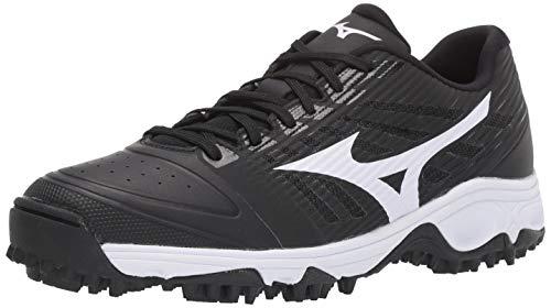 Mizuno 320595.9000.14.1050 Ambition All Surface Low Turf Shoe Black-White (9000) 10 1/2 (1050)