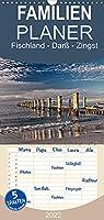 Fischland - Darss - Zingst - Familienplaner hoch (Wandkalender 2022 , 21 cm x 45 cm, hoch): Eine wundervolle Halbinsel (Monatskalender, 14 Seiten )