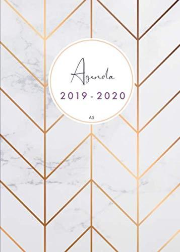 Agenda 2019-2020 a5: Organiza tu día - Agenda semanal -...