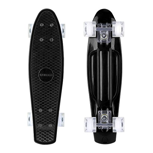 ENKEEO Skateboards 22 Inches Complete Skateboard Cruiser...
