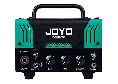 JOYO ATOMIC Amplifier 20 Watt Hybrid Mini Tube Head Bluetooth BanTamp Series