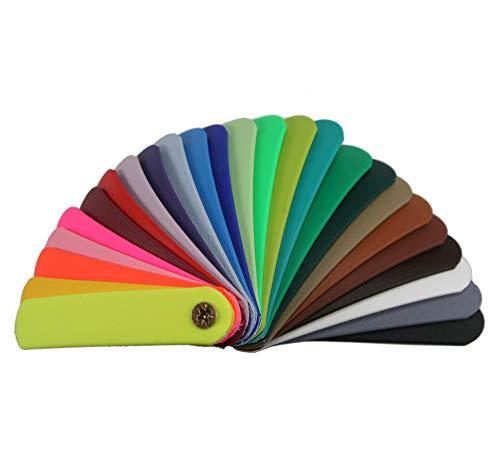 BioThane® Meterware, Beta Standard, 9-50 mm breit, ca. 2,5 mm dick, viele Farben, 16mm, Schwarz
