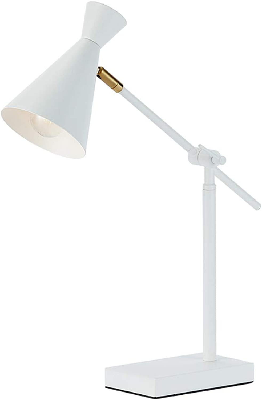 NACHTTISCHLAMPEN Lixin Tischlampe Einstellbare Lampe Kopf Auge Mdchen Schlafzimmer Einfache Moderne Warme Romantische Persnlichkeit (Farbe   SCHWARZ, gre   S)