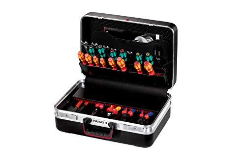 Parat CLASSIC Plus Werkzeugkoffer (Ordnungssystem CP-7 - 2 Schlüssel, 1 Längssteg 3 Querstegen, 48 x 36 x 21 cm, ohne Inhalt) 581.000.171