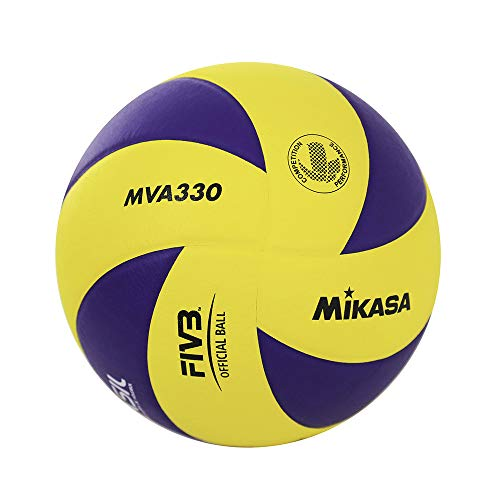 Mikasa Tecno Pro Mva 330 Volleyball Ball, Mehrfarbig, 5