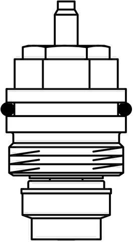 Oventrop Ventileinsatz Baureihe A für Ventile M 30 x 1,0-1998 1017069