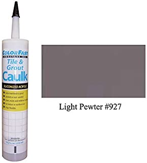 TEC Color Matched Caulk by Colorfast (Sanded) (927 Light Pewter)