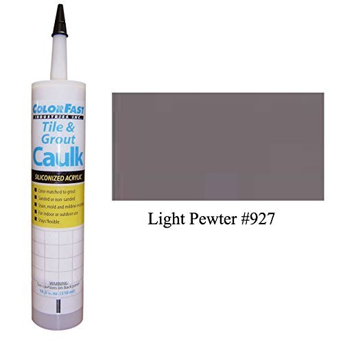 TEC Color Matched Caulk by Colorfast (Unsanded) (927 Light Pewter)