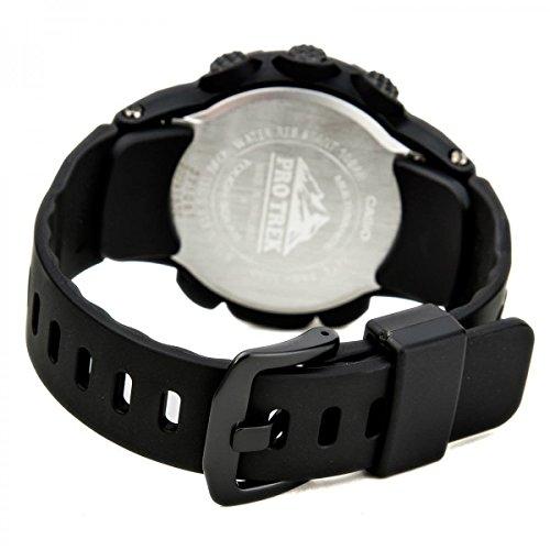 『[カシオ]CASIO 腕時計 PROTREK プロトレック PRW-3000-1A オールブラック メンズ [逆輸入モデル]』の5枚目の画像