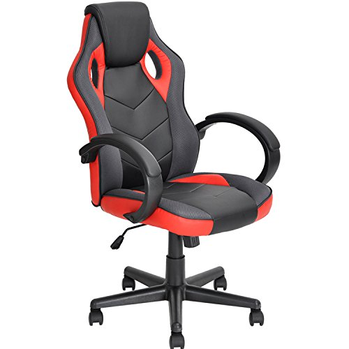 Coavas Gaming Chair Office Desk Chair High Back Ergonomic Game Racing Chair PU Leather Executive...
