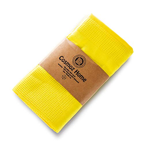 COSMOZ Juego de 5 paños de Microfibra 62 x 48 cm en Colores Pastel Modernos