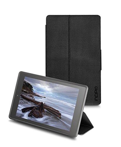 Incipio Clarion Folio Fire HD 8 Case (Previous Generation - 2015 release), Black