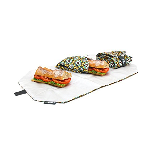 Rolleat - Snack'n'Go Tiles Bolsa Merienda Porta Sandwich Eco