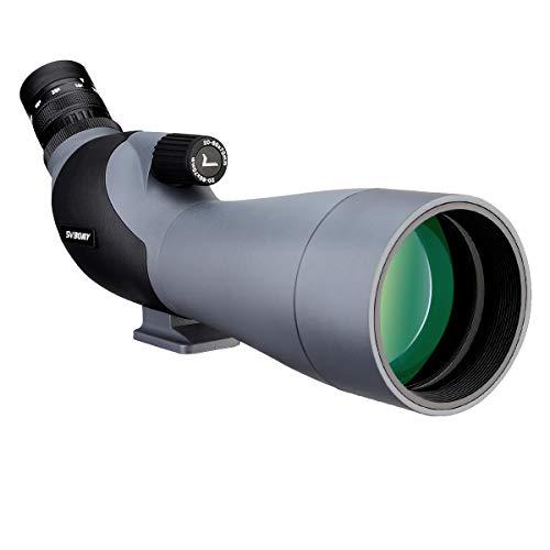 Svbony SV402 Telescopio Terrestre 20-60x70 Zoom HD FMC Porro Prisma Monocular Ocular Angulado Spotting Scope para...