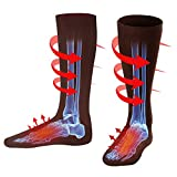 Autocastle Men Women Rechargeable Electric Heated Socks Battery Heat Thermal Sox,Sports Outdoor Winter Novelty Warm Heating Sock,Climbing Hiking Skiing Foot Boot Heater Warmer