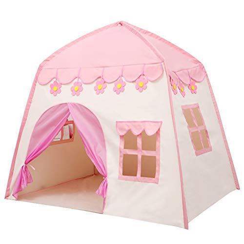 Gspose Tienda de campaña infantil de princesa, para interior y exterior, casita de juegos para niños, tienda de campaña, regalo de Navidad