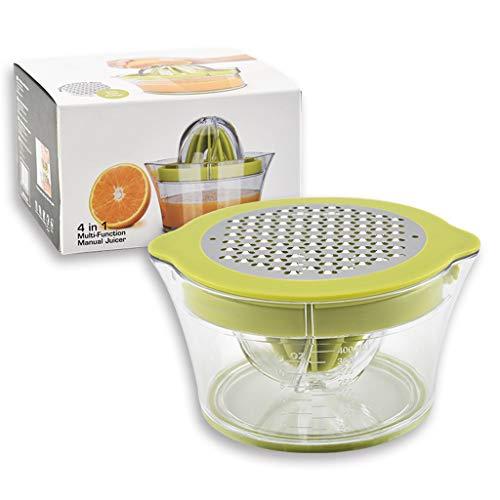 KINTRADE Exprimidor Manual de limón Exprimidor de limón Exprimidor de Frutas 4 en 1 Fruta práctica