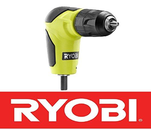 New Ryobi 18 Volt Right Angle 90 Degree Drill Attachment 3/8' Chuck A10raa1