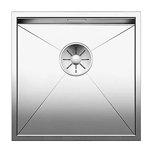 Blanco Zerox 400-U, Spülbecken für den Unterbau, Unterbaubecken, Nullradius-Design, InFino-Auslauf, Edelstahl Seidenglanz; 521585