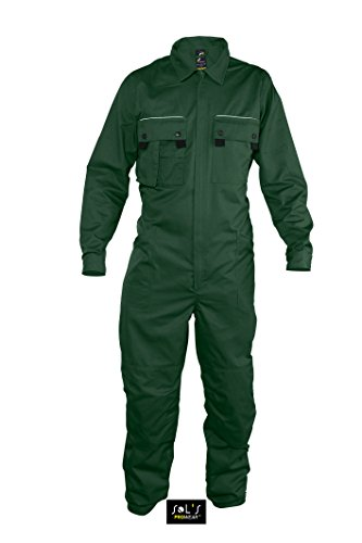 Workwear Overall Solstice Pro Bottle Green 4XL