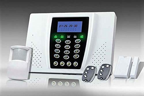 Camtronics Alarm 100GSM, Kit de Alarma con gsm Compuesto por Central, 1 Sensor de Puerta y Sensor PIR vía Radio y Dos mandos de Control Remoto