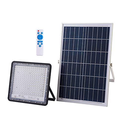 LED Solar Foco Proyector 100W 200W 300W, Luz De Seguridad Para Jardín...