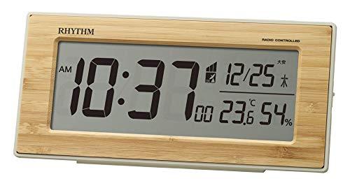 RHYTHM(リズム時計工業)『フィットウェーブバンブーD212』
