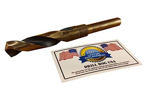 Drill Hog USA 11/16' Drill Bit 11/16' Silver & Deming Bit HI-Molybdenum M7