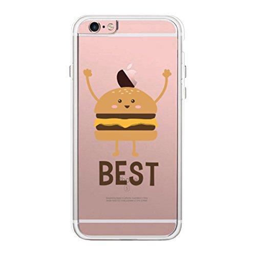 365 Printing iPhone 6 6S BFF Funda transparente cumpleaños para mejor amigo, compatible con iPhone, Samusung Galaxy (fabricado en Plástico.), color transparente