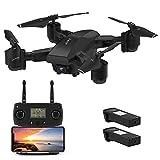 JJRC GPS Drone 5G WiFi FPV Drone avec Rc Pliable 1080P Caméra HD vidéo en Direct, Intelligent Retour Accueil, Mode de contrôle Double Pliant Drone pour Adultes