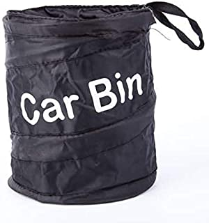 Wastebasket Trash Can Litter Container Car Auto Garbage Bin/Bag Waste Bins Household Cleaning Tools Accessories