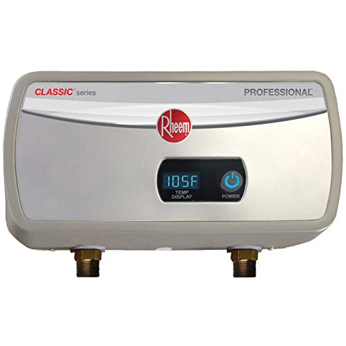 Rheem RTEX-06 6kW 240V Point of Use Electric Tankless Water Heater, Gray