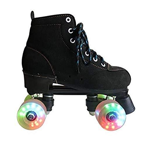 Roller Skates Passend Für Mode-Ikone Anfänger Und Junge Mädchen Vier Runden Rollschuhe Doppelreihe Rollschuhe Outdoor-Sportarten Rollschuhe,B,31