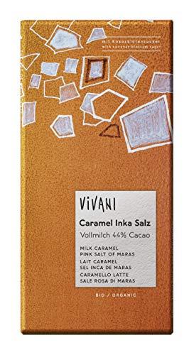 80g Vivani Caramel Inka Salz - Vivani Bio Schokolade - neu!-