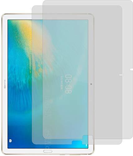 4ProTec I 2X Schutzfolie KLAR passgenau für Huawei MatePad 10.8 - Bildschirmschutzfolie Schutzhülle