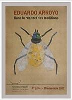 ポスター エドゥアルド アロヨ Dans Le Respect Des Traditions 額装品 アルミ製ハイグレードフレーム(ホワイト)