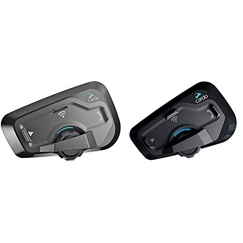 Cardo FREECOM 4 Plus – 4-Wege-Bluetooth-Motorradkommunikationssystem (Zweierpackung) & FREECOM 4 Plus – 4-Wege-Bluetooth-Motorradkommunikationssystem (Einzelpackung)